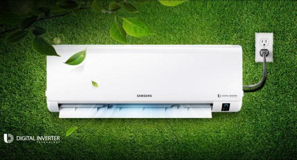 Высокий уровень энергоэффективности в кондиционерах Samsung