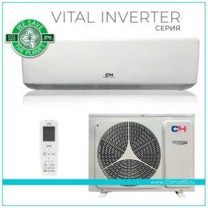 Кондиционер Cooper&Hunter Vital inverter CH-S09FTXF-NG (до 30м²)