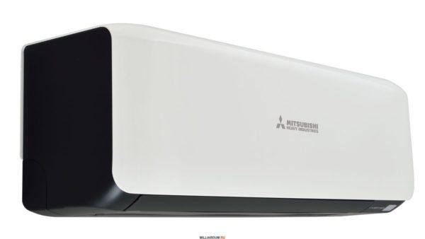Кондиционер MITSUBISHI HEAVY SRK50ZS-S/ (Titanium/Contrast) (50м²)