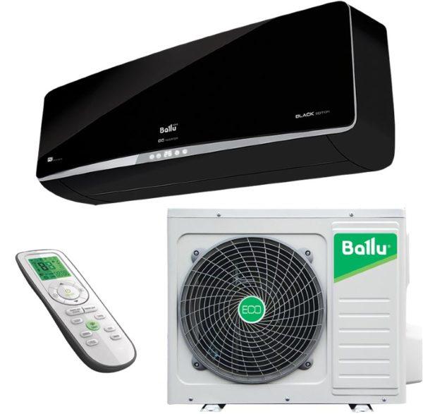 Кондиционер Ballu DC inverter Platinum Balack Edition