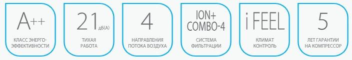 Кондиционер Ballu Platinum DC-inverter BSPI-10HN1/BL/EU (20m2)
