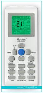 Пульт управления кондиционера Radius Comfort on\off