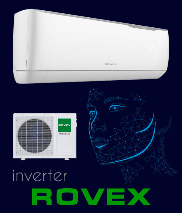 Кондиционера Rovex серия Smart inverter
