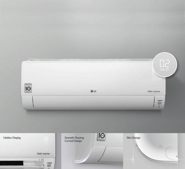 преимущества LG ProCool DUAL inverter