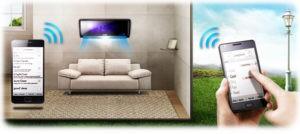 Управление кондиционером по wi fi
