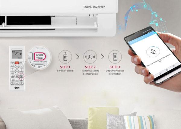 Wi-Fi управление кондиционером LG ProCool DUAL inverter